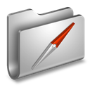 Folder, Metal, Sites icon