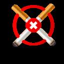 No Smoke Icon Glyph Smart Icon Sets Icon Ninja