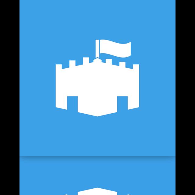 microsoft, essential, mirror, security icon
