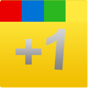 yellow, google+, square, plus, google, one, +1 icon