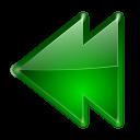 Actions arrow left double icon