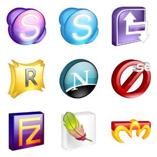 SoftDimension icon sets preview