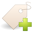 Actions tag new icon