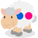 flickr, sheep, social network icon