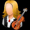 Female, Light, Musician icon