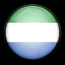 sierra, flag, leone, country icon