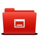 soda, red, desktop, new, folder icon