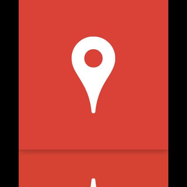mirror, place, google icon