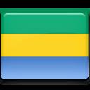 gabon, flag icon