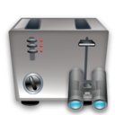 Search, Toaster icon