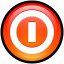 turn, off, button icon