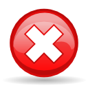 exclamation, cancel, no, button, error, alert, close, wrong, stop, warning icon