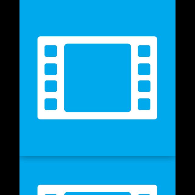 mirror, videos icon