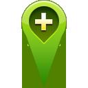 location, pin, add icon