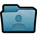 Folder, Mac, User icon