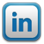 linkedin, in, linked icon