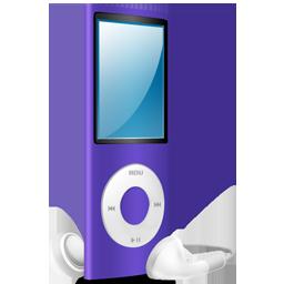 purple, ipod, purple on, nano icon