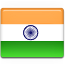 indian, india, flag icon