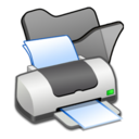 folder,black,printer icon