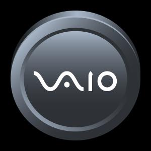 center, control, vaio, sony, badge icon