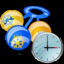 rattle,clock,alarm icon