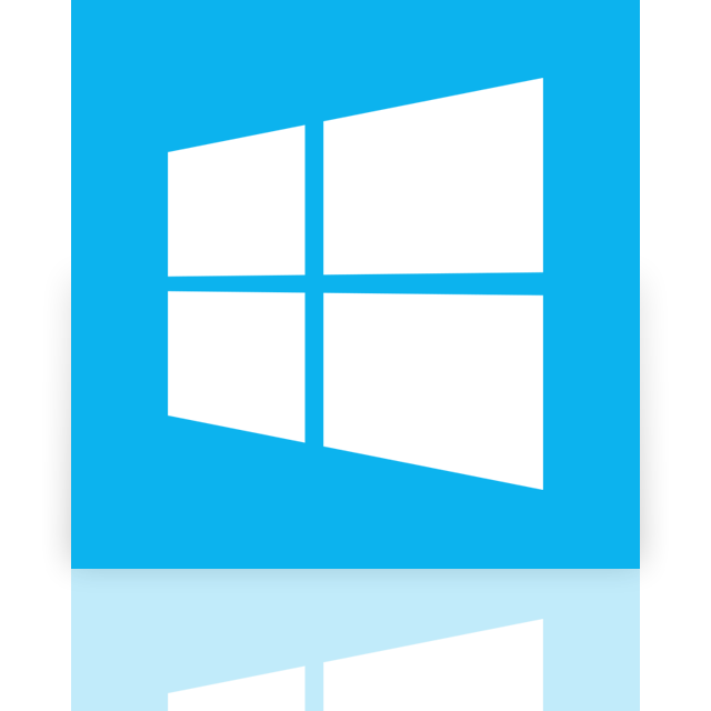 windows, mirror icon