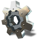 gear, wheel, cog icon