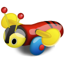 Bee, Buzzy icon