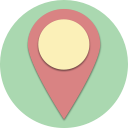 point, navigation, location, direction, map, marker, pin icon