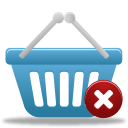 basket, remove, shopping icon