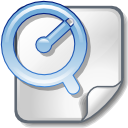 file, apple, quicktime icon
