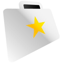 folder, favourite icon