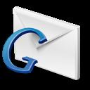 Blue, Gmail, Google icon