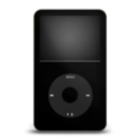 ipod,black icon