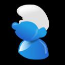 smurf, cartoon icon