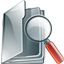file, paper, search, seek, find, document icon