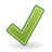 Apply, Dialog, Tick icon
