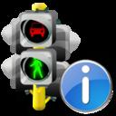 Info, Lights, Traffic icon