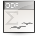 Application, Vnd.Oasis.Opendocument.Formula icon