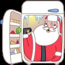 santa fridge icon