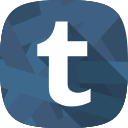 tumblr, social network, blog icon