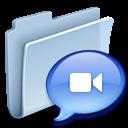 folder, talk, badged, speak, chat, comment icon