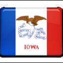 iowa,flag icon