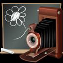 Black, Board, Camera, School icon