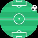 Footbal field icon