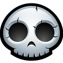 dead, halloween, skeleton, monster, bones, skull icon