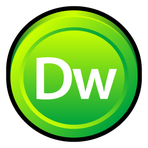 adobe, badge, dreamweaver, cs icon