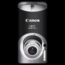 Black, Canon, Digital, Ixy, l icon
