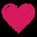 heart, favorite, health, like, scribble, love, bookmark icon