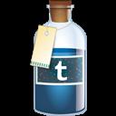Bottle, Tumblr icon